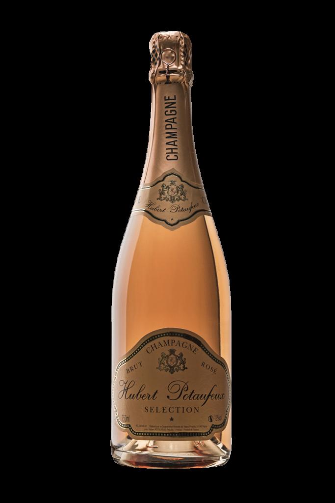 Champagne Hubert Potaufeux Brut Rosé